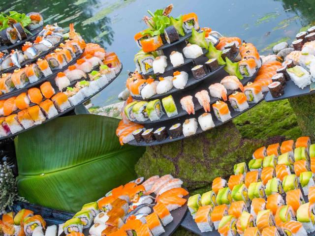 barras de sushi